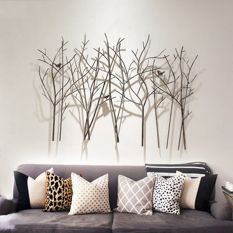 Living Room Creative Wrought Iron Wall Decoration