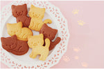 3Pcs/set Cute Cat Cookie Molds  Cutter