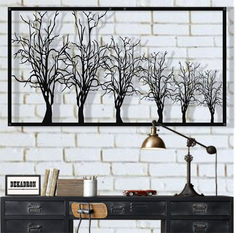 Metal Tree Wall Art