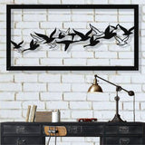 Metal Bird Wall Art