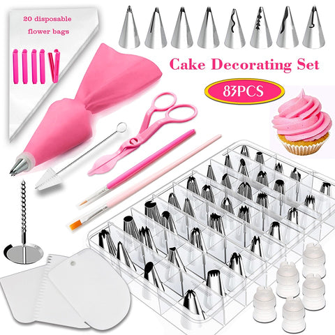 Cake decoration tools 83Pcs/Set