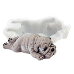 Cute Dog Shape Silicone Mold Ice Cream/Mousse/Cake