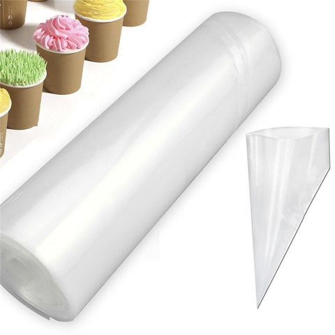 1 Roll Piping Pastry Bags(50pcs)