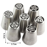 13Pcs/Set Russian Icing Piping Tips