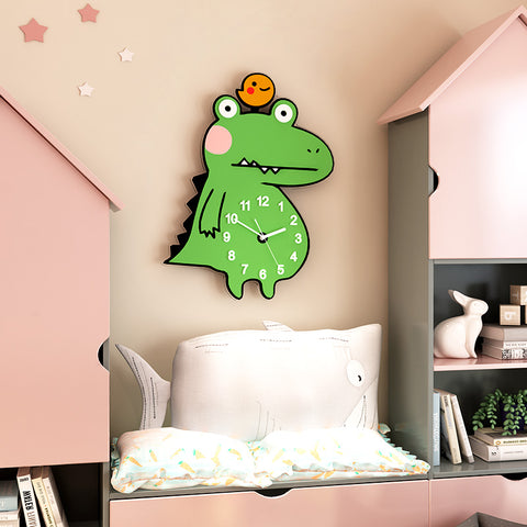 Cartoon Cute Silent Wall Clock