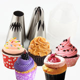 4Pcs Large Russian Icing Piping Tips