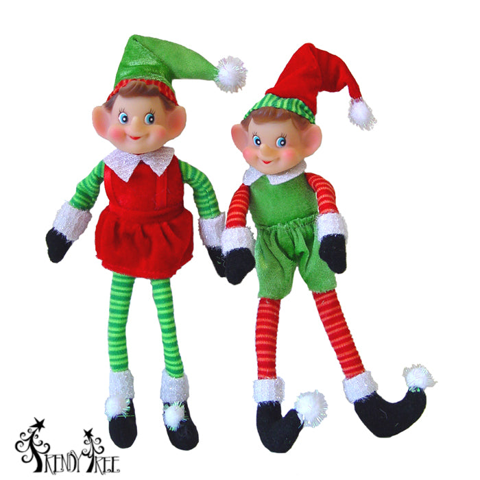 Christmas in August? New Pixie Elf Christmas Ornaments Just Arrived!