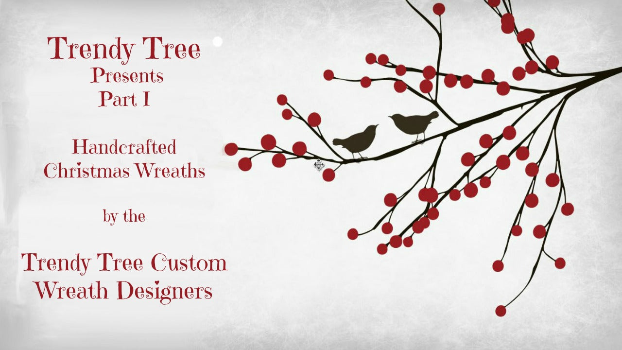 2016 Trendy Tree Presents Christmas Wreaths from Custom Designers Part 1 of 4