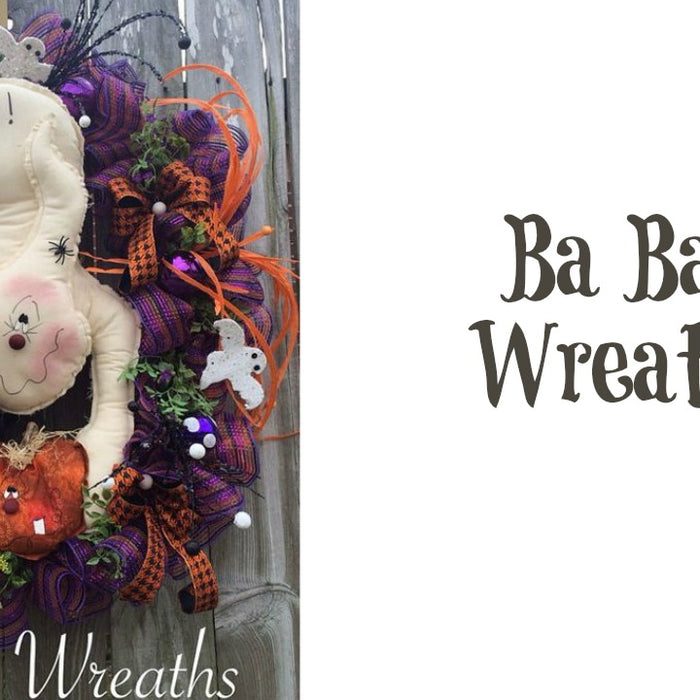 2016 Custom Designer Halloween Wreaths Video Part 1 of 3