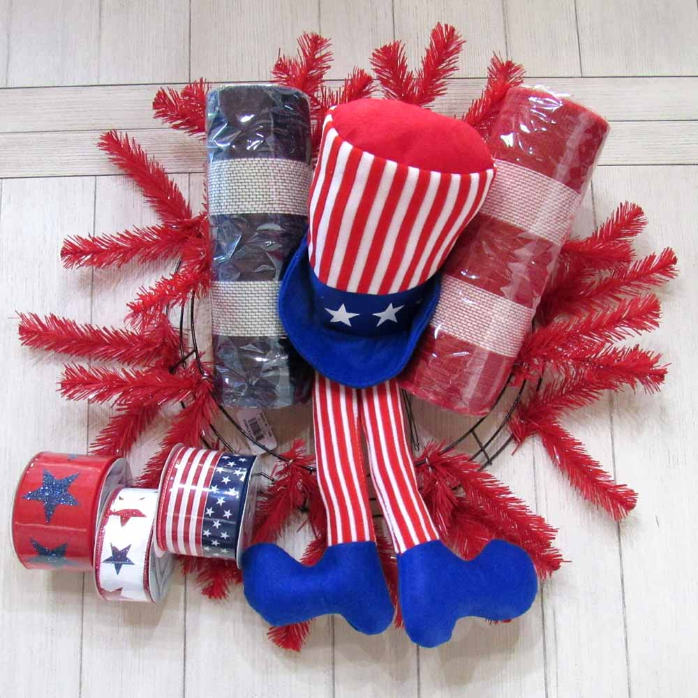 2018 Patriotic Wreath Supply Kit