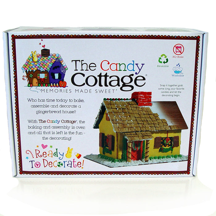 Candy Cottage Reusable Gingerbread House Just Arrived!