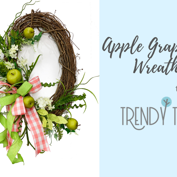 Apple Grapevine Wreath Tutorial
