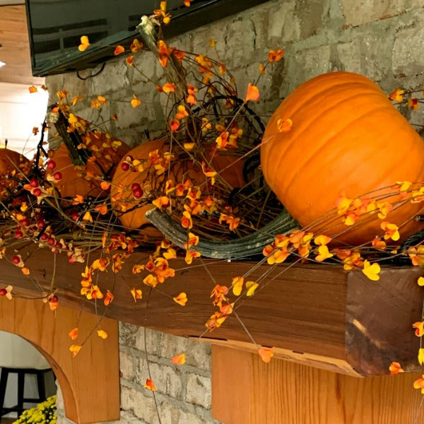 Back Porch Fall Decorations