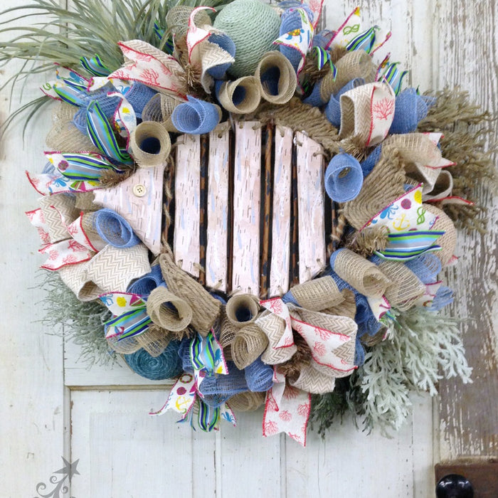 Beach Wreath Tutorial