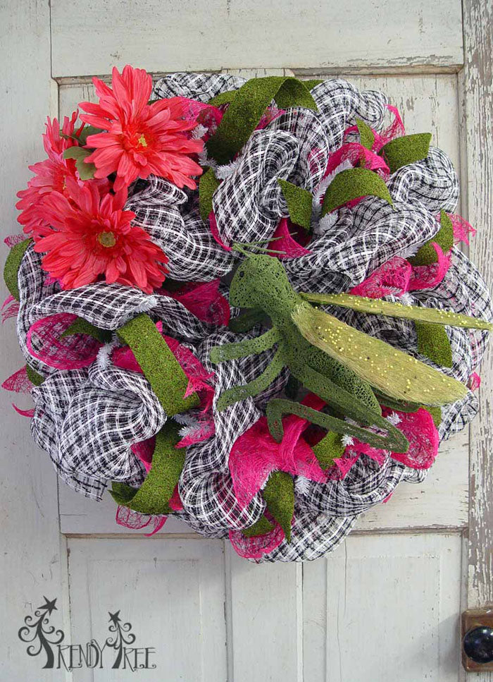 Spring Wreath with Grasshopper Video Tutorial