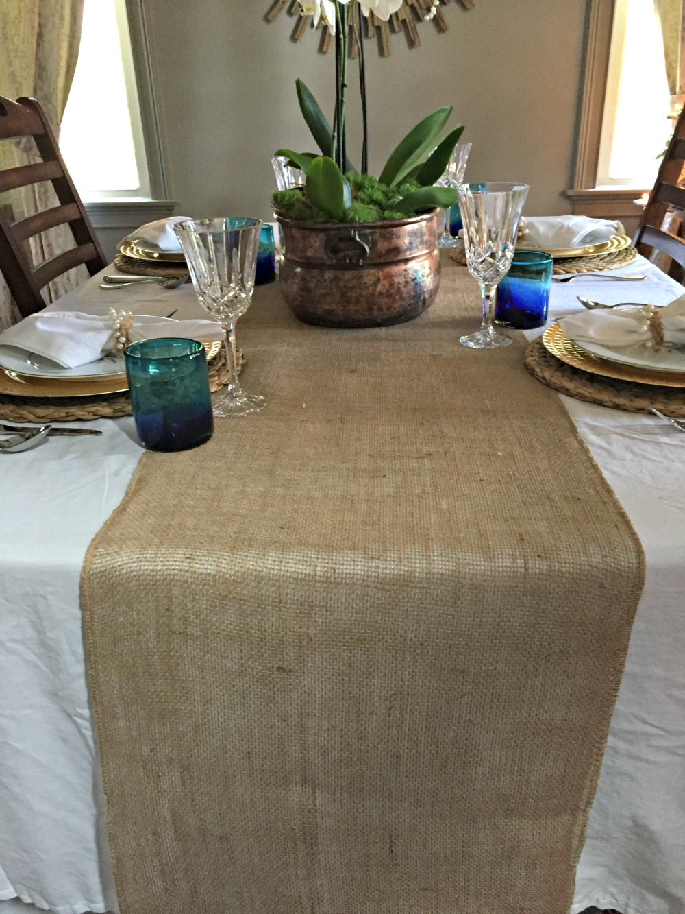 Trendy Tree Quick Tip #7 Shabby Chic Table Runner
