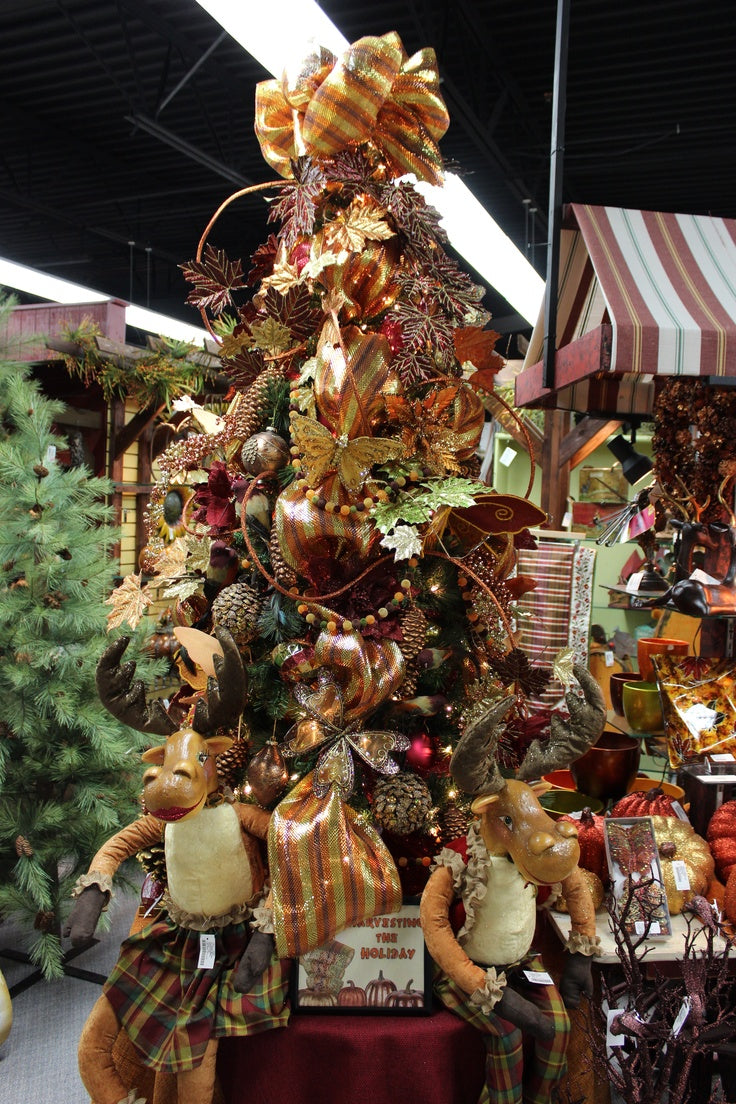 Harvesting the Holiday - Decorated Christmas Tree by Craig Bachman Imports