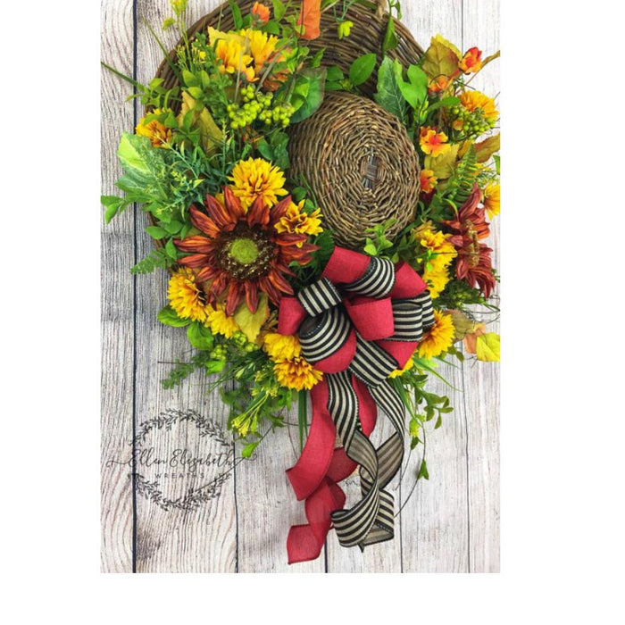 2018 August Wreath Creations from the Trendy Tree Custom Designer List