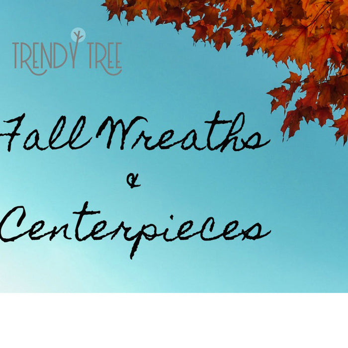 Video Featuring Fall Wreaths & Centerpieces