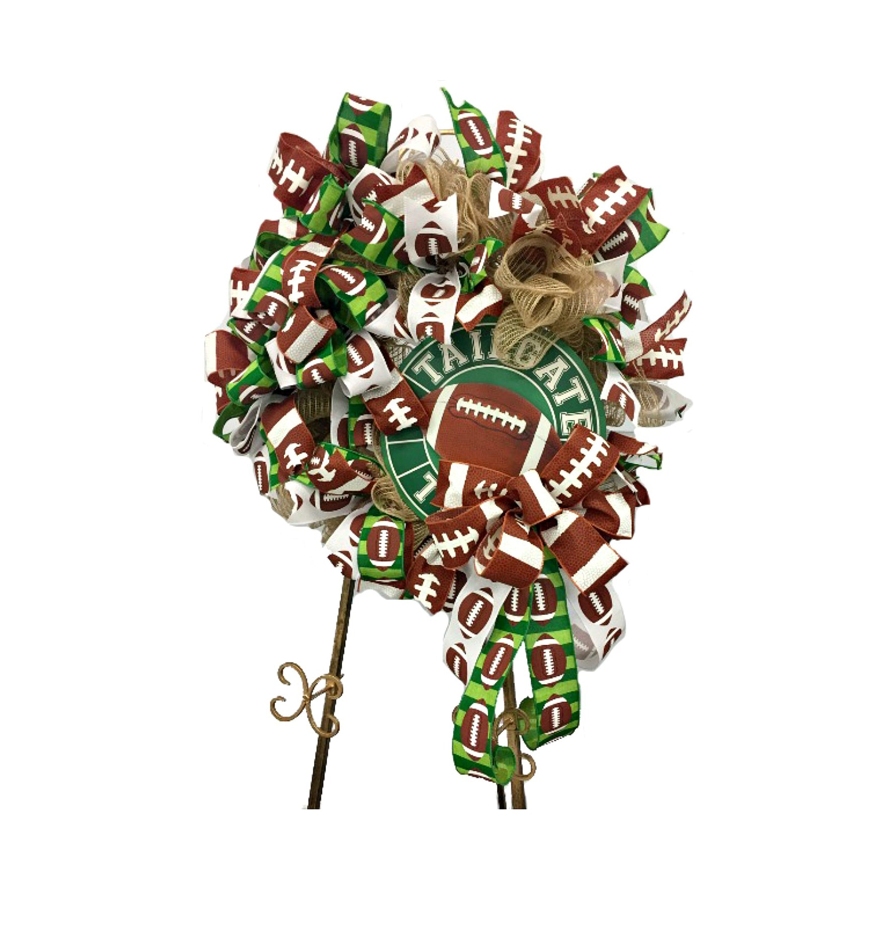 How to Make a Football Wreath