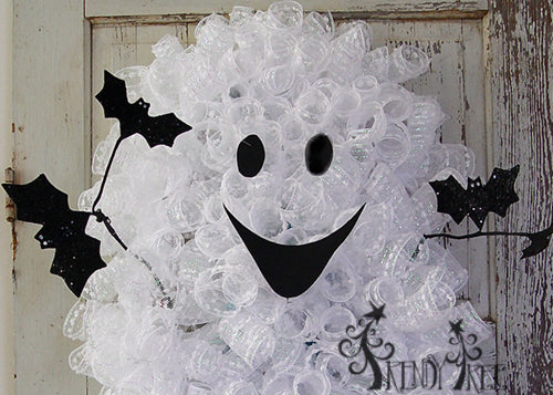 Ghost Wreath Tutorial