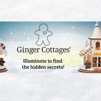Ginger Cottages from Old World Christmas New for 2020!