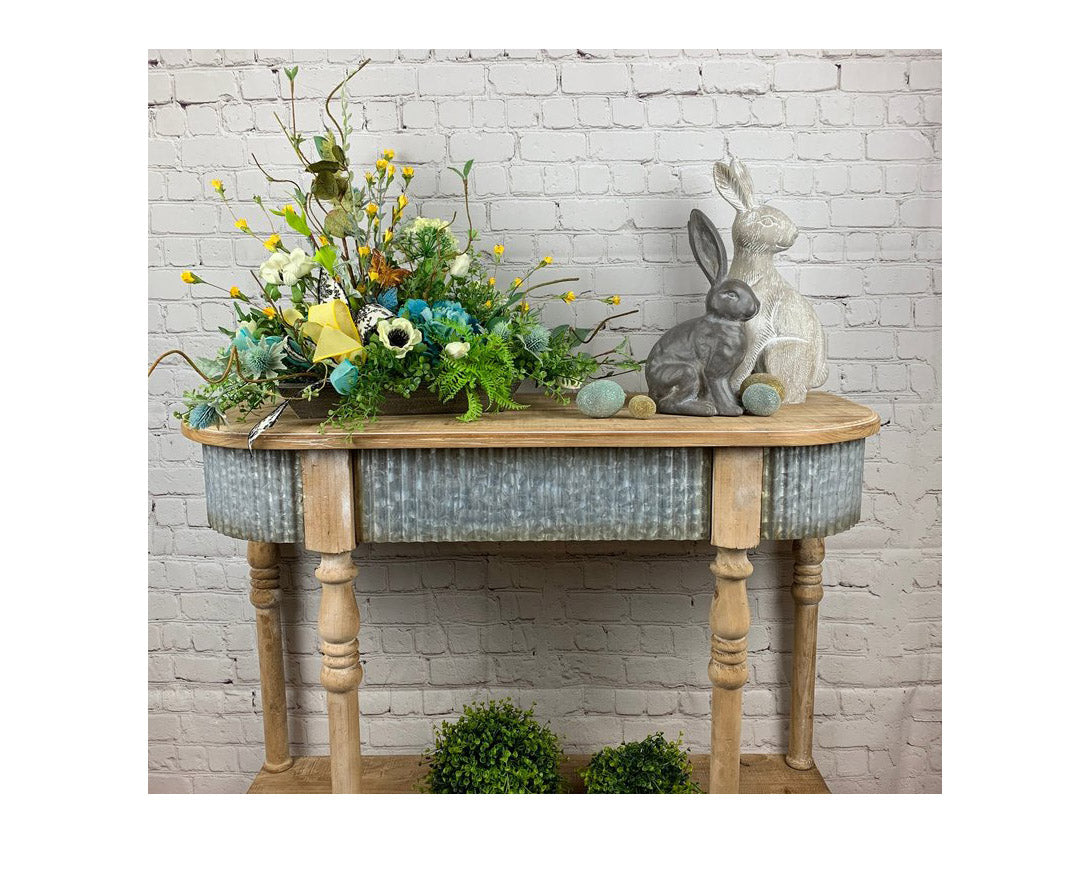 Hobby Lobby Farmhouse Table for Staging Photos