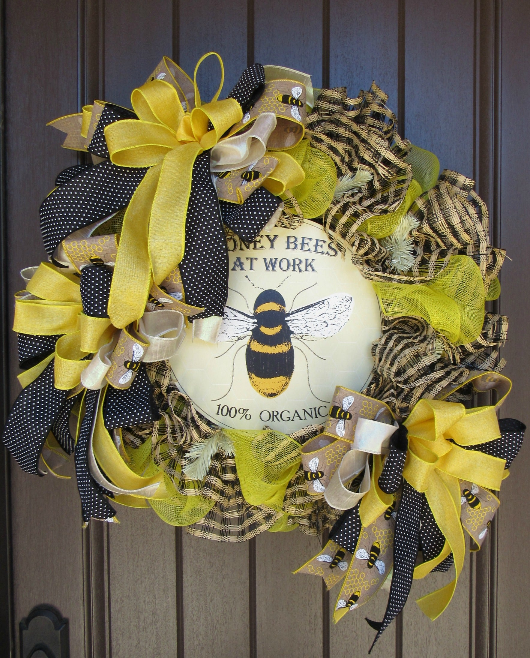 Honey Bee Wreath Tutorial