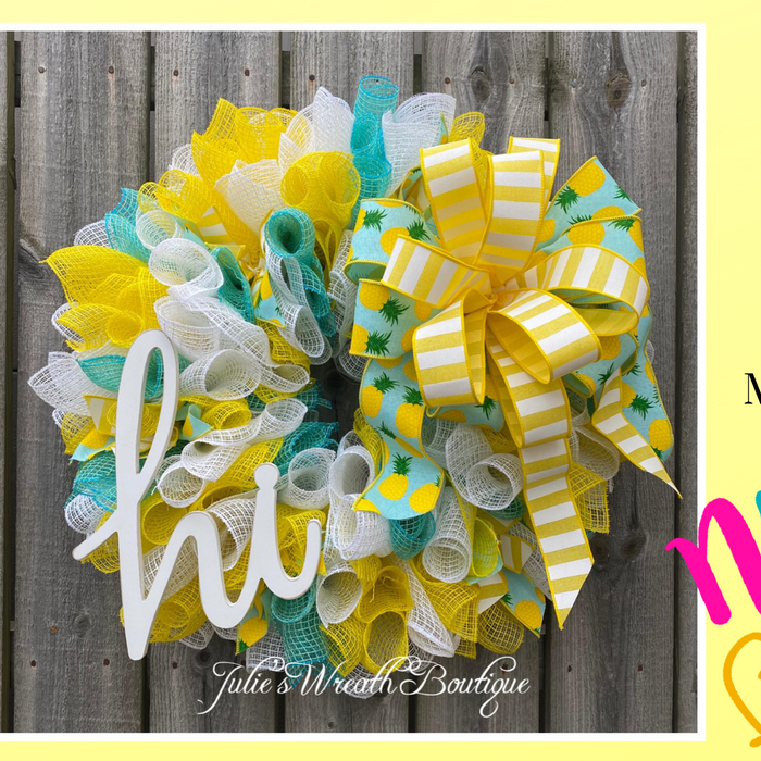 Julie's Wreath Boutique Summer Supply Kit