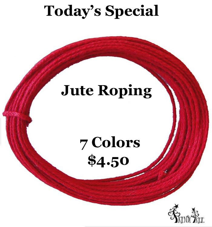 Today's Special! Jute Roping with Wire