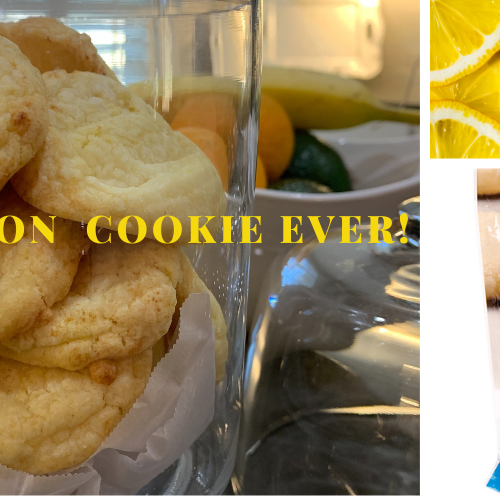 Best Lemon Sugar Cookie Ever!
