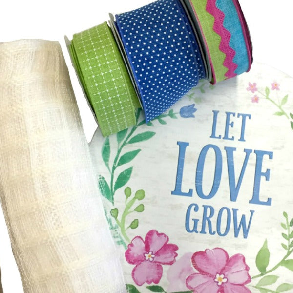 Let Love Grow Wreath Supply Kit