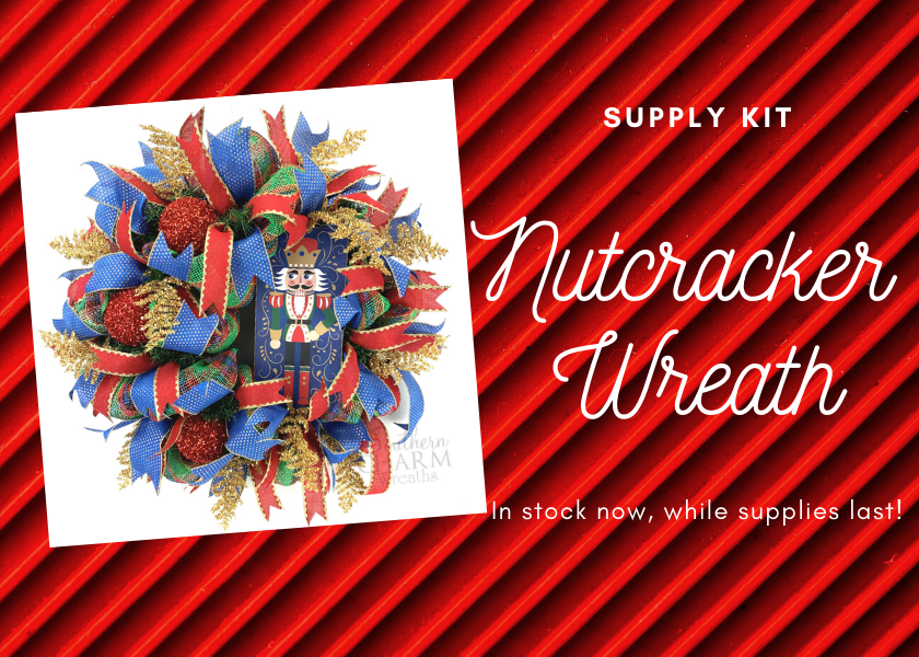 Nutcracker Wreath Supply Kit