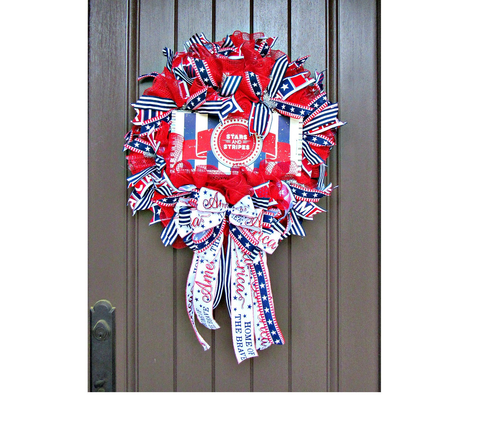 Assorted Patriotic Wreath Supply Kit