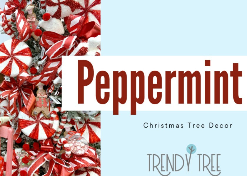 Peppermint and Gingerbread Christmas Tree