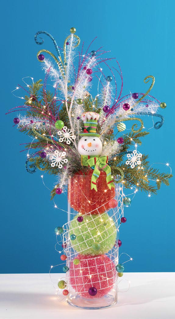 RAZ Candy Sprinkles Centerpiece Idea