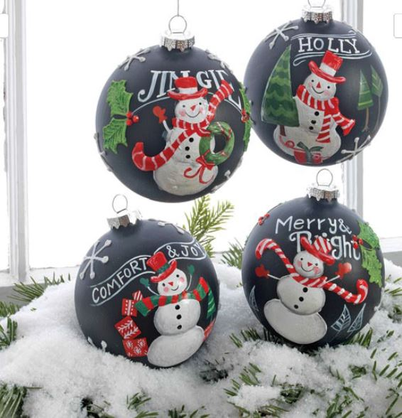Use Black in your Christmas Decorating