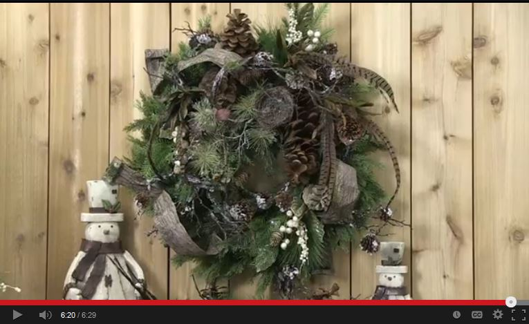 RAZ Wreath Tutorial Using Products from the Forest Friends Collection