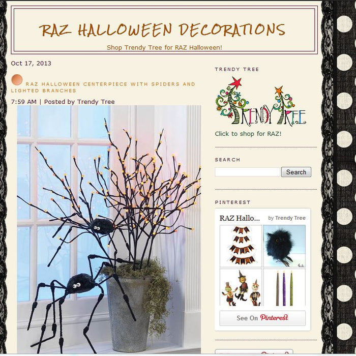 Rolling out a new RAZ Halloween Blog!
