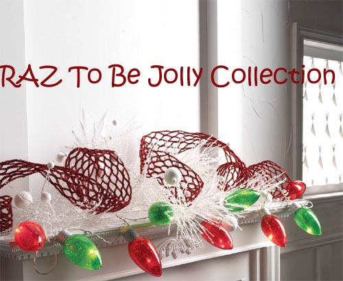 RAZ To Be Jolly Mantel Decoration