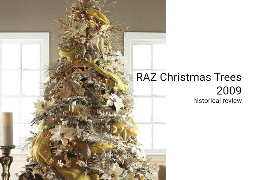 Christmas Tree Inspiration from RAZ 2009