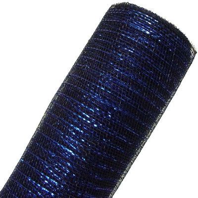 New Navy Foil Deco Poly Mesh® Now in Stock!