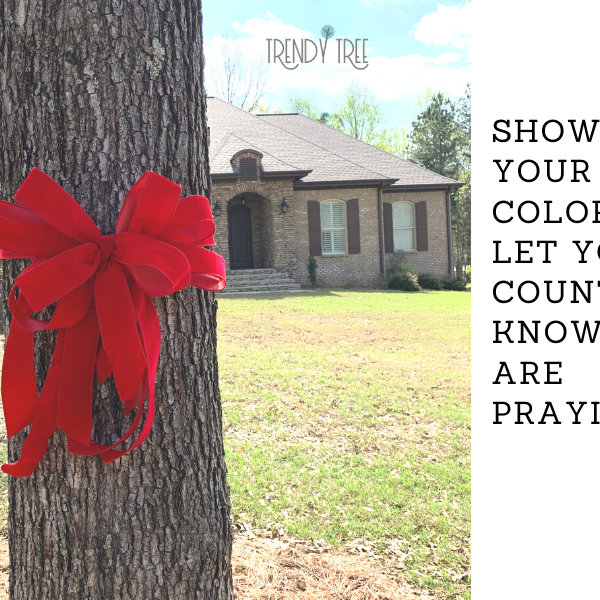 Show Your Colors! Tie a Red Ribbon to Show Support for the USA