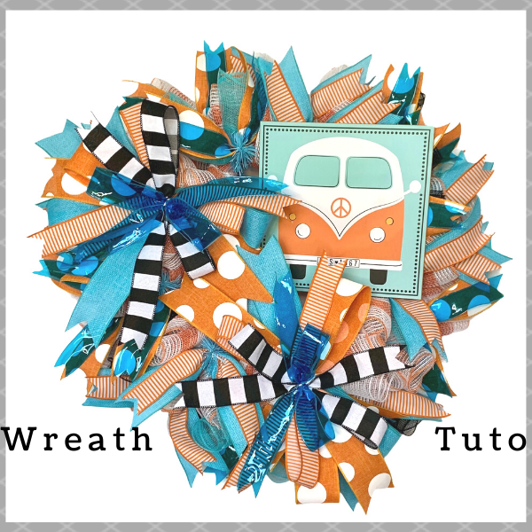 Retro Bus Wreath Tutorial