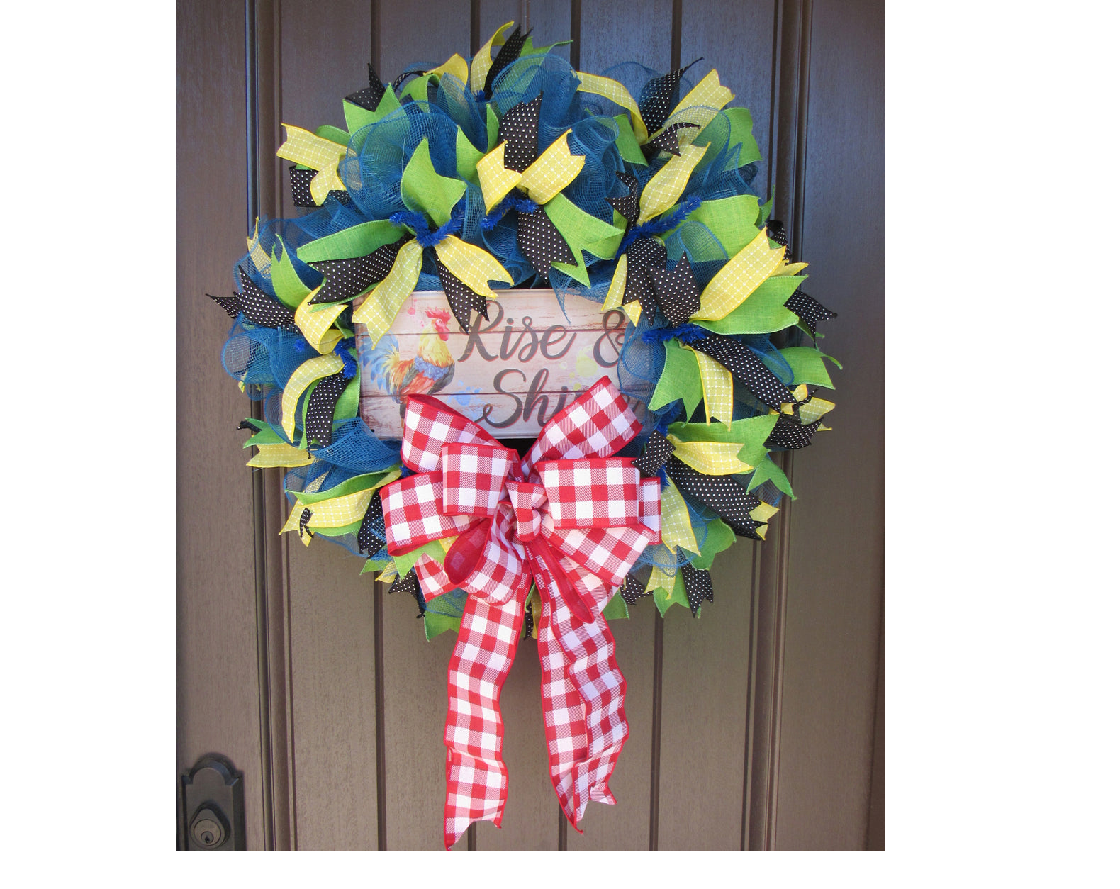 2018 Rise and Shine Wreath Tutorial