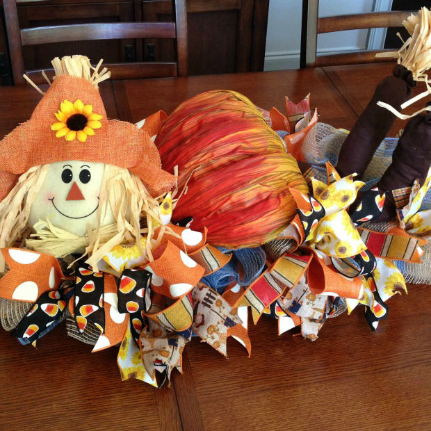 Scarecrow Centerpiece Tutorial 2016