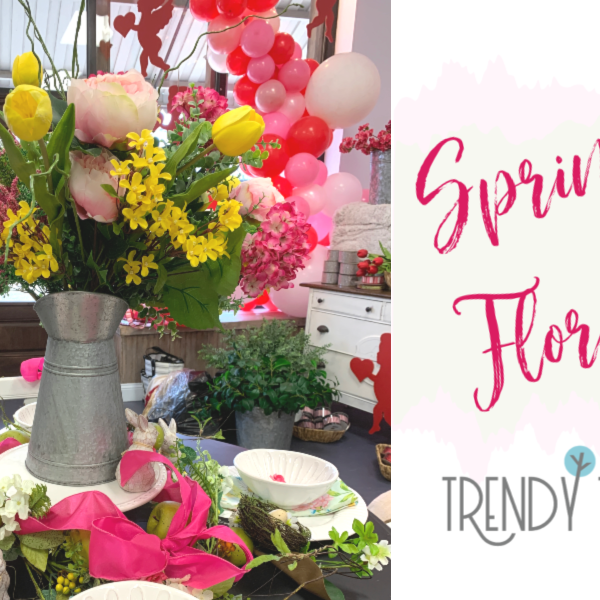Spring Florals from Trendy Tree