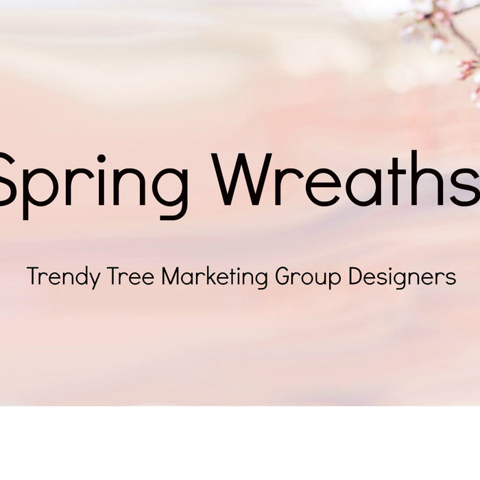 Spring Wreath Video
