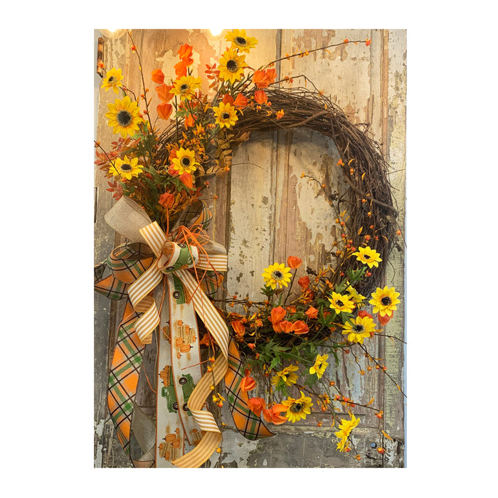 Fall Grapevine Wreath Inspiration