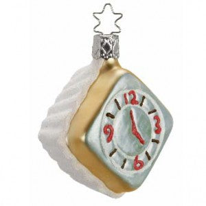 christmas ornament five o'clock somewhere inge-glas of germany